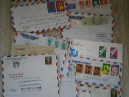 LUFTPOST Briefe Sammlung Im Karton Mit Alter Korrespondenz Eines Handelshauses - Timbres