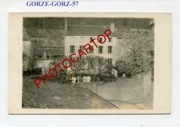 GORZE-GORZ-Lazaret-chez Le Photographe-Carte Photo Allemande-Guerre 14-18-1WK-Frankreich-France-57- - Ars Sur Moselle