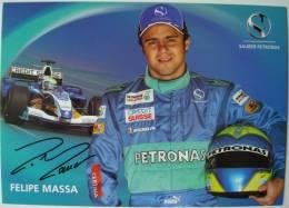 Formule 1. - Sauber Petronas. - Felipe Massa. - Automobile - F1