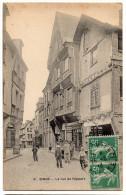 DINAN --1913-- La Rue De L´Apport (très Animée) N°8 éd Serouet-----Belle Carte ...à  Saisir - Dinan