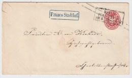 "Preußen, 1865, Berlin - , "" Franco Stadtbrf. ""   , #1060 - Preussen"