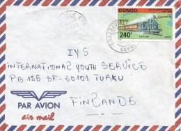 Congo 1992 Brazzaville Transsiberia Train Russia Cover - Congo - Brazzaville