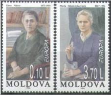 Cept 1996 Moldavie Moldova Yvertn° 176-77 *** MNH Femmes Célèbres Cote 4,50 Euro - 1996