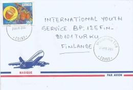 Congo 2000 Brazzaville Natural Rubber Latex Landolphia Liana Vine Fruit 300f Cover - Congo - Brazzaville