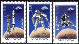 Cept 1994 Moldavie Moldova Yvertn° 96-98 *** MNH Cote 10,50 Euro - Moldavie