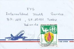 Congo 1997 Brazzaville Human Rights Pigeon Dove Cover - Congo - Brazzaville