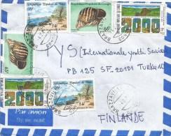 Congo 1989 Brazzaville Shell Fishing Village Millennium Agriculture Cover - Congo - Brazzaville