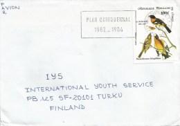 Congo 1985 Brazzaville Audubon Songbird Painting Cover - Congo - Brazzaville