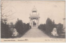 23669g  MONUMENT GOBLET - Court-Saint-Etienne - Court-Saint-Etienne