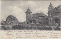 23747g  STATION Du TRAM - LAITERIE - CAFE - HOTEL - Duinbergen - 1904 - Heist