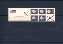 PB 6eFa / 6eFaS (fosfor, Poot Linksboven Smal, CW = € 3,-) - Booklets