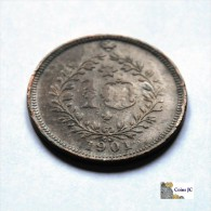 Azores - 10 Reis - 1901 - Azores