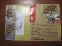 Argentina. 2001.  San Salvador De Jujuy. Registered Postal Cover To Ukraine. Nice Stamps. - Argentina