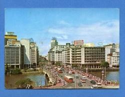 Brésil - Recife - Pont Duarte Coelho - Trolleybus - Pub Pirelli - Recife