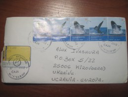 Argentina. 2001.  San Salvador De Jujuy. Postal Cover To Ukraine. Nice Stamps. - Argentina