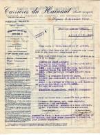 Soignies. Carrières Du Hainaut. Exploitation De La Pierre Bleue. **** - 1900 – 1949