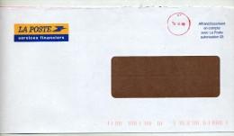 Lettre Encompte Cachet Sans Nom Curiosité - Postmark Collection (Covers)