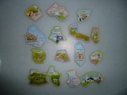 Lot De 15 Magnets Depart Aimant Le Gaulois - Magnets