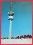 157706 / PAMPOROVO Peak SNESHANKA , Skiing Ski  - TV Television Tower Tour De Télévision Fernsehturm  Bulgaria Bulgarie - Bâtiments & Architecture