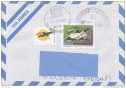 [Z3] Enveloppe Cover Argentine Argentina Orque Killer Whale - Whales