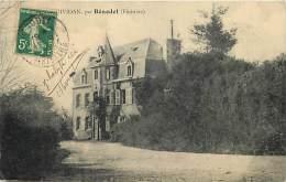 Finistere -ref C860- Chateau -legende Illisible - Par Benodet - Carte Bon Etat  - - France