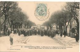 Cpa17 Rochefort Musique Du 3e R I Coloniale - Rochefort
