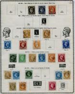 COLLECTION FRANCE CLASSIQUE 1849/1900 OBLIT. COTE  1700 � MAJORITE TB