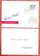 Karte, Mit Freundlichen Gruessen, NEOS-Donner, Berlin, Cor-Vel Zur Herztherapie, SoSt Aerztetag 1965 (69216) - [5] Berlin