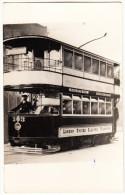 London United Tramways : Car 303 - Kingston Hill To Winters Bridge  - STREETCAR  / TRAM  / STRAßENBAHN - England - Trains