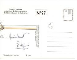 BERNARD VEYRI YASSER ARAFAT TIRAGE LIMITE300EX - Veyri, Bernard