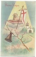 """1969, Trento Tione -   """"Cartolina Illustrata Di Buona Pasqua"""" Illustratore G. Tarantino - Pasqua"""