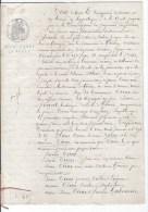 Inscription Aux Hypotheques 1871 - Cachets Généralité