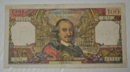 100 Francs Corneille  U74 état B - 1962-1997 ''Francs''