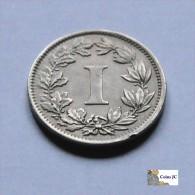 México - 1 Centavo - 1883 - Mexiko