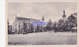 CPSM 9X14  D´ ALLEMAGNE  -  RIESA/ELBE . Rathaus Mit KLOSTERKIRCHE - Riesa