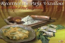 Recette Du Pays Vizillois : Les Oreilles D'âne De Vizille Aux épinards N° 4 - CPM Neuve - Recettes (cuisine)