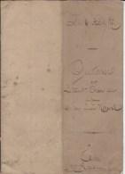 Actes  étude  M Rosset à Gironde 1871 - Cachets Généralité