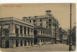 Carte Postale Ancienne Sri Lanka (Ceylan) - Colombo. Prince Street - Sri Lanka (Ceylon)