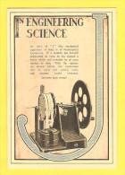 Postcard - In Engineering Science, Cambridge Instriment Co. Ltd. - Sin Clasificación
