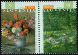 Cept 1996 Slovénie Slovenija Yvertn° 134-35 *** MNH Cote 4,50 Euro - 1996