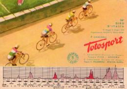 CICLISMO , 36° GIRO  D´ ITALIA  1953 , X  Tappa  A Cronometro Modena  Aeroautodromo  , Edizione Coni Totocalcio * - Cycling
