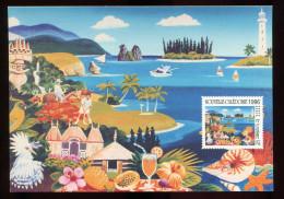0497 - Nouvelle - Calédonie  - Pret-à-Poster  - 2 - CP - Le Cricket - Luftpost