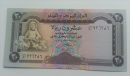YEMEN 20 RIALS UNC - Yemen