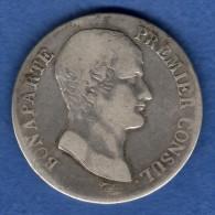 FRANCE - 5 Francs AN 12 A [TB] Napoleon  Argent Silver (3129) - France