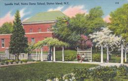 New York Staten Island Lavelle Hall Notre Dame School
