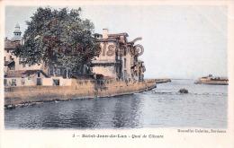 (64) - Saint-Jean-de-Luz - St-Jean-de-Luz - Quai De Ciboure - 2 SCANS - Ciboure