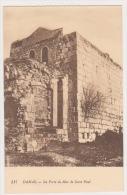 CPA SYRIE DAMAS La Porte Du Mur De St Paul N° 517 - Syrie