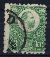 Hongrie / Ungarn: 1871, Yv Nr 8 Used Obl   Signed/ Signé/signiert/ Approvato - Hungary