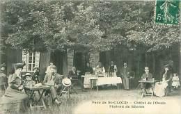 Cpa SAINT CLOUD 92 Parc De Saint Cloud - Châlet De L' Oasis -Plateau De Sèvres - Saint Cloud
