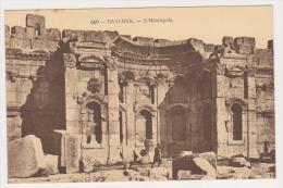 CPA  LIBAN  BAALBECK L'Hémicycle N° 669 - Liban